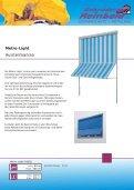Fassadenmarkisen - Fallarm - - Gebrueder Reinbold - Seite 6