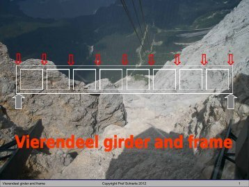 Vierendeel girder and frame - Engineering Class Home Pages