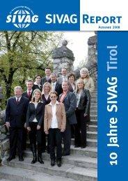 10 Jahre SIVAG Tirol
