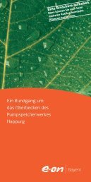 Folder Naturlehrpfad Happurg (PDF) - E.ON Bayern
