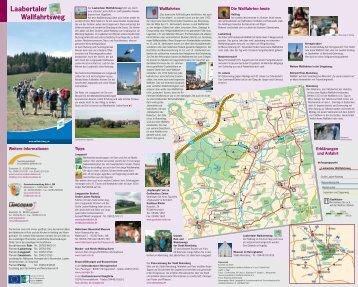 Laabertaler Wallfahrtsweg - Tourismusverband im Landkreis Kelheim
