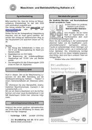 Rundschreiben 2/2010 - Maschinenring Kelheim eV