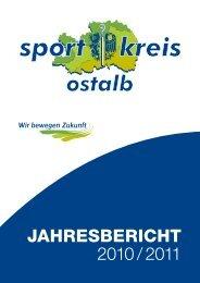 jahresbericht 2010/11 - Sportkreis Ostalb