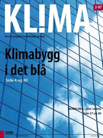 2 07 Side 4 og 30 - CICERO Senter for klimaforskning - Universitetet ...