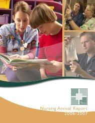 Nursing Annual Report 07.indd - Mercy Hospital Medical Center