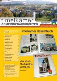 Inhalt - Marktgemeinde Timelkam