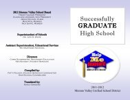 Successfully GRADUATE High School - Moreno Valley Unified ...
