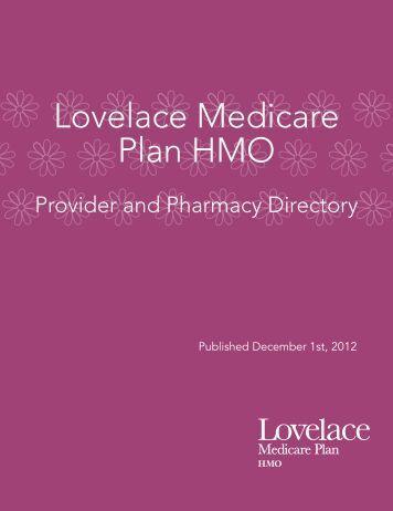 Provider Directory - Lovelace Medicare Advantage Plan