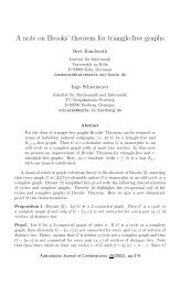 A note on Brooks' theorem for triangle-free graphs
