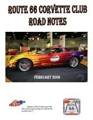 February - Route 66 Corvette Club