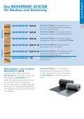 NOVOPROOF® Dichtungssysteme für Flachdächer und Teiche - Seite 5