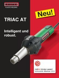 TRIAC AT - Leister