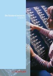 Die Stickerei-Industrie im Überblick - Textilverband Schweiz