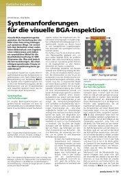 Systemanforderungen für die visuelle BGA ... - Neue Verpackung