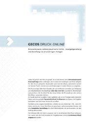V - GECOS GmbH