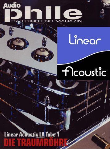 Testbericht LA Tube 1 - Linear Acoustic