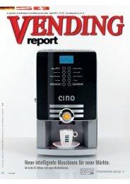 Vending Report - Servomat Steigler