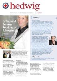 Ausgabe I.2008 - DRK-Schwesternschaft Berlin