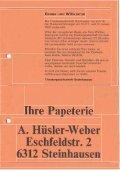 Programm download - Theatergesellschaft Steinhausen - Page 3