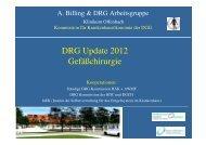Billing DRG update 2012 für drg kurs - Deutsche Gesellschaft für ...
