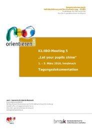 Dokumentation Meeting 5 - Berufsorientierung - Bundesministerium ...