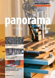 Customer magazine No. 1/2008 Every material is ... - Datwyler Rubber