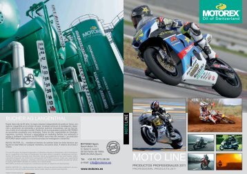 MOTO LINE - Calidad - Motorex