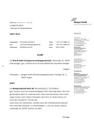 Wengert GmbH KLAGE - Wengert Gruppe