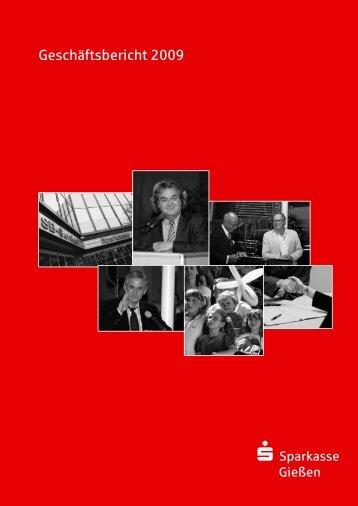 Geschäftsbericht 2009 - Sparkasse Gießen