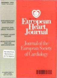 Front Matter (PDF) - European Heart Journal