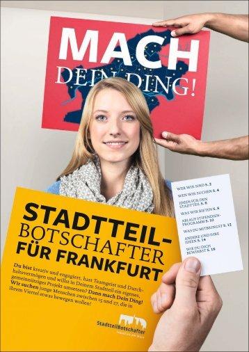 STADTTEIL- - Stiftung Polytechnische Gesellschaft