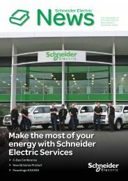 Make the most of your energy with Schneider Electric Services