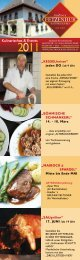 Kulinarisches & Events - Fleischerei & Gasthof Mitteregger ...