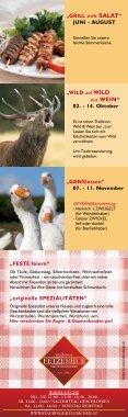 Kulinarisches & Events - Fleischerei & Gasthof Mitteregger ... - Seite 2