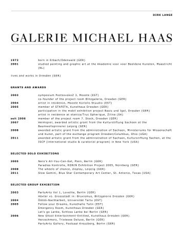 Download - Galerie Michael Haas