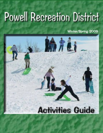 Winter/Spring 2009 - City of Powell