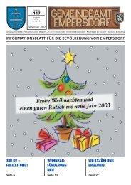 Zeitung III - Gemeinde Empersdorf