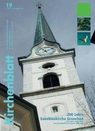 19 200 Jahre Eusebiuskirche Grenchen - Kirchenblatt