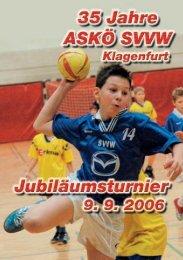 Ballspielhalle St. Ruprecht, Kneippgasse 30 - SVVW Klagenfurt