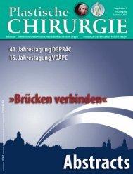 Supplement 1 10. Jahrgang September 2010 D57442 ... - DGPRÄC