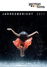 JAHRESBERICHT 2011 - German Cinema