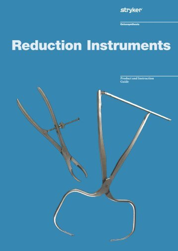 Reduction Instruments Brochure - Stryker