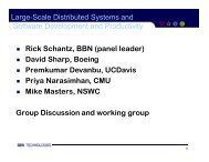 Large-Scale Distributed Systems and Software Development ... - nitrd