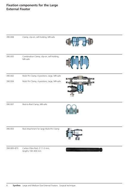 c9969725 Large and Medium-Size External Fixators. Modular ... - Osteosyntese