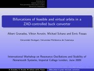 Bifurcations of feasible and virtual orbits in a ZAD-controlled buck ...