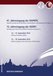 41. Jahrestagung der DGPRÄC 15. Jahrestagung der VDÄPC