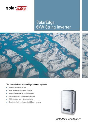 Using Solaredge Inverters And Power Optimizers In Pv Sol