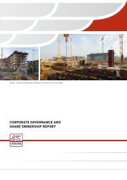 corporate governance and share ownership report - Generali