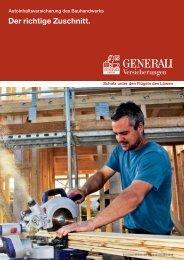 Autoinhaltsversicherung Bauhandwerk - Die VersicherungsAgenten