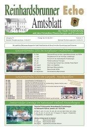 der Stadt Friedrichroda mit den Ortsteilen Finsterbergen und ...